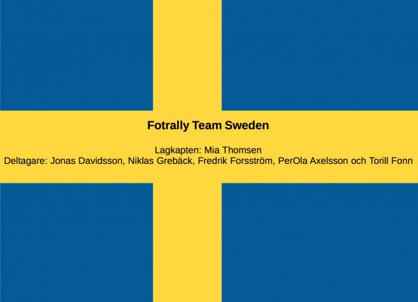 team sweden fotrally
