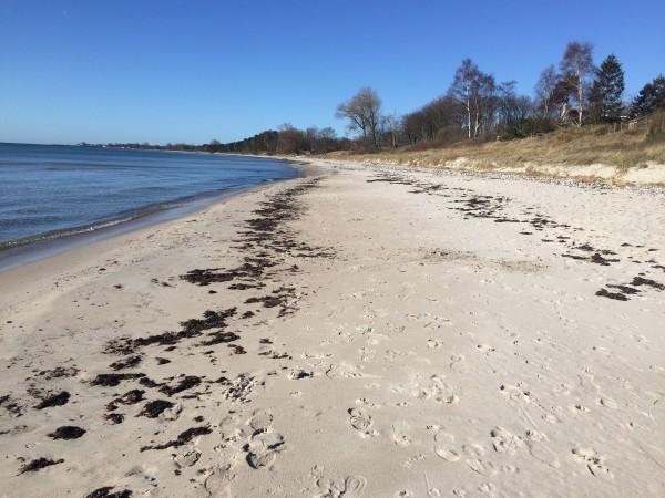 Mossbystrand eller Rivieran? Foto: privat