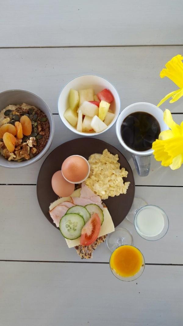 Maten på Mossbylund är helt fantastisk! Foto: Anna Markelin