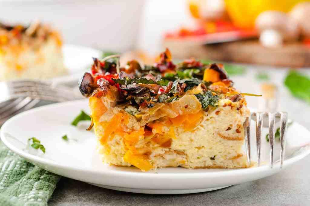 Easy Vegetarian Breakfast Casserole