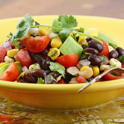 Corn, Black Bean, and Mango Salad