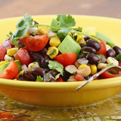 Corn, Black Bean, and Mango Salad
