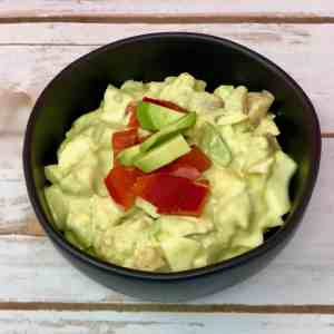 Delicious Curried Avocado Egg Salad