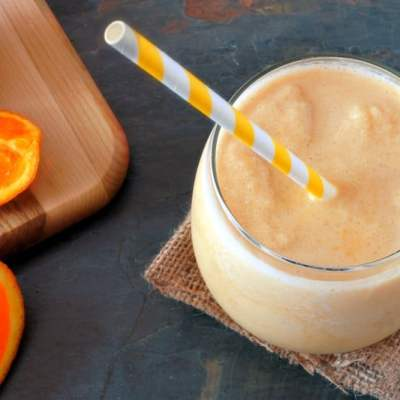 Inflammation Fighting Orange Smoothie