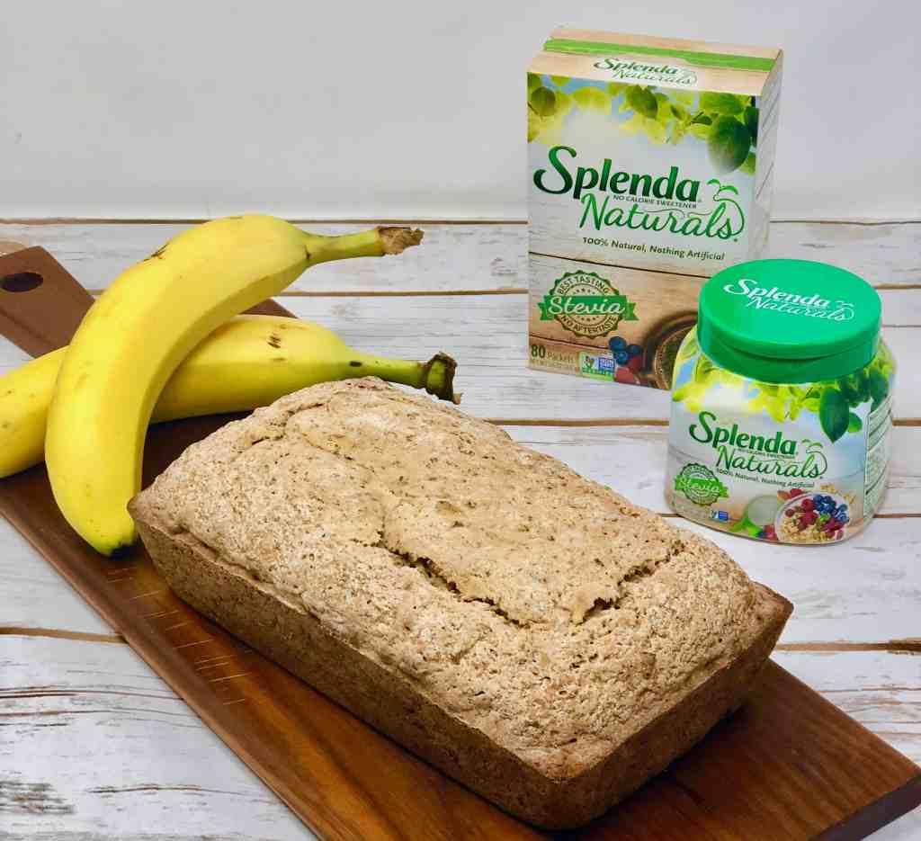 Banana Bread made with Splenda Naturals Sweetener