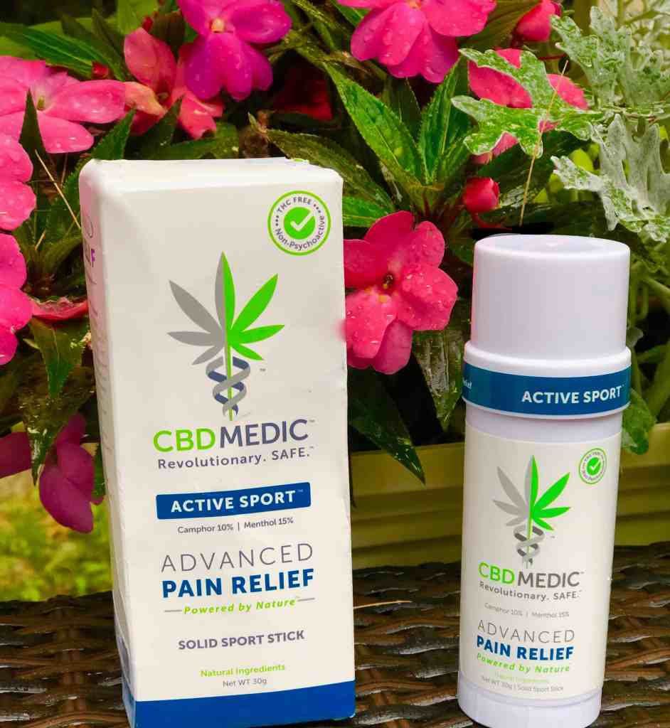 Tips to Relieve Exercise Related Muscle Pain: Use #CBDMEDIC Active Sport™ Advanced Pain Relief Solid Sport Stick, Rest, Ice, Compression, and Stretching #ad