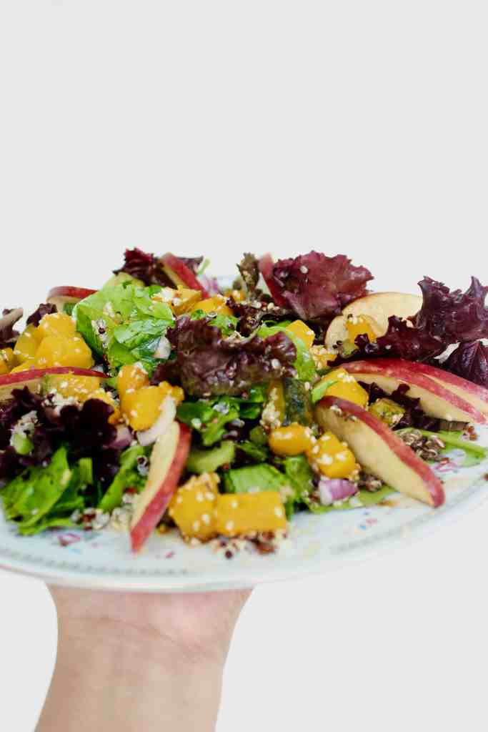 Sautéed Squash and Quinoa Salad