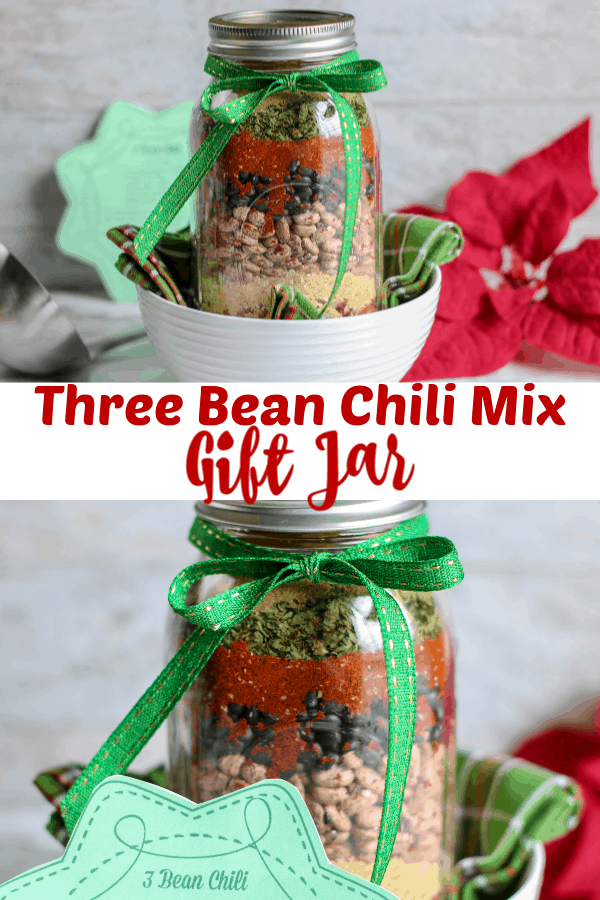 Three Bean Chili Mix Gift Jar