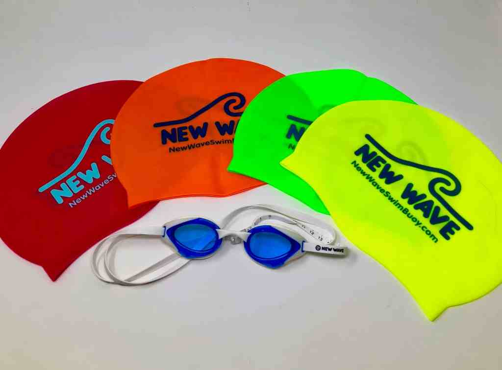 New Wave Swim Caps