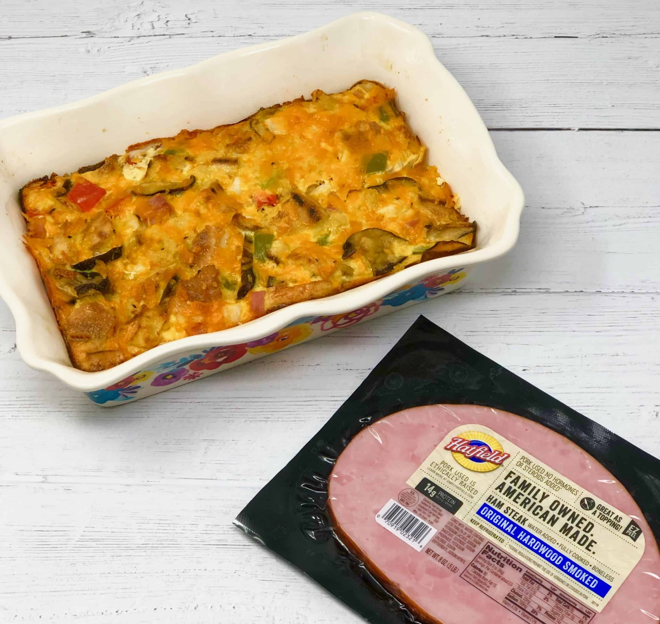 Hatfield Ham and Veggie Strata