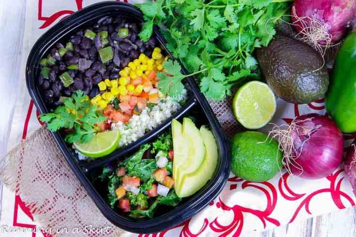 Meal Prep Easy Vegetarian Burrito Bowl