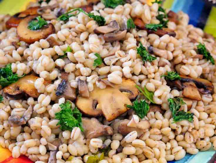 Barley Pilaf with Mushrooms | A Deliciously Savory Dish!