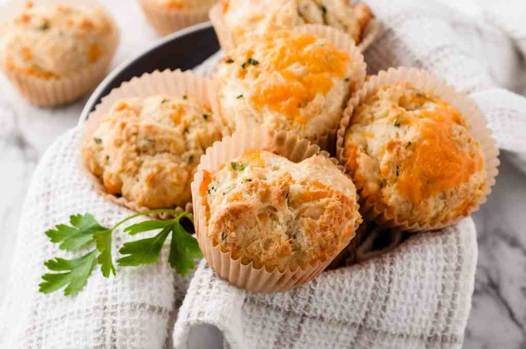 Easy Cheese and Herb Scones