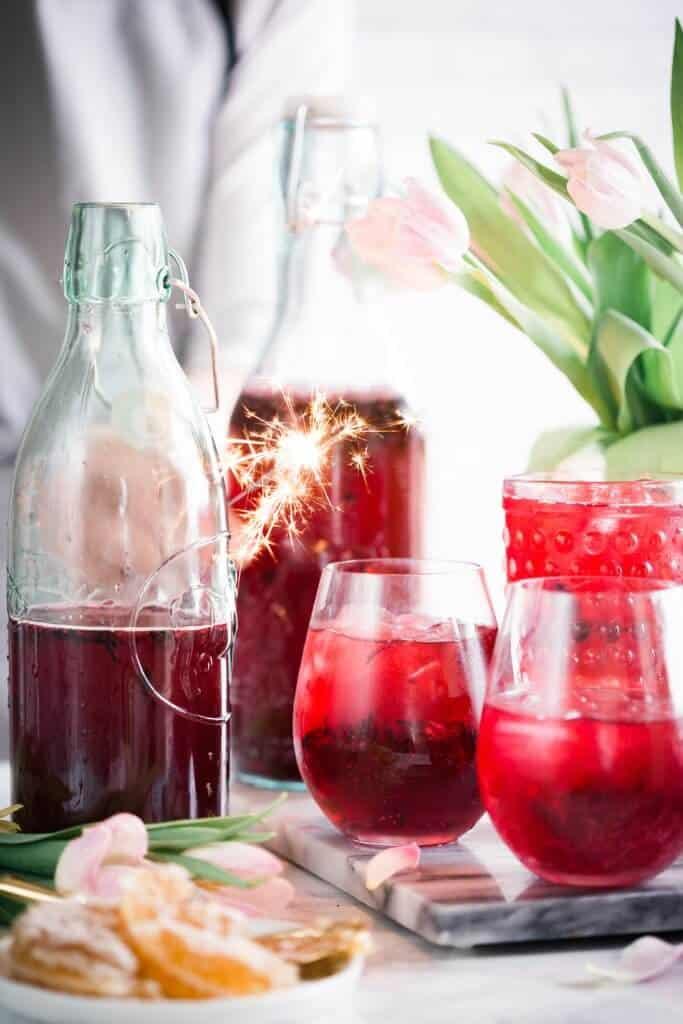 Elderberry Iced Tea for Immunity And Health