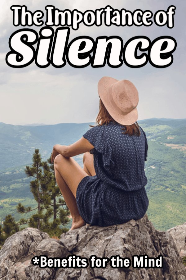 The Importance of Silence Pin