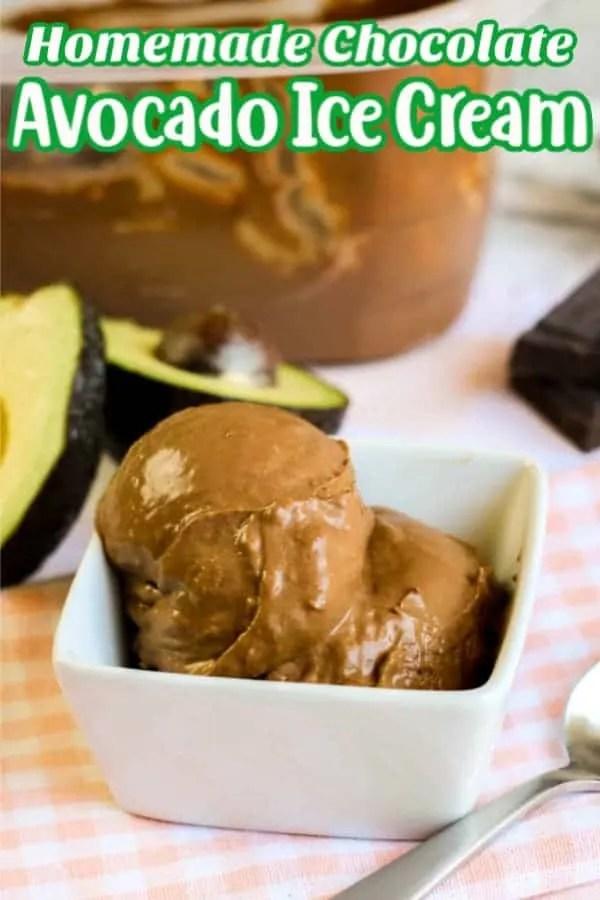 Homemade Chocolate Avocado Pin