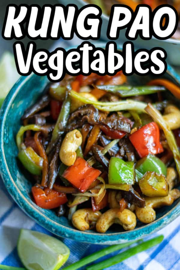 Kung Pao Vegetables Pin