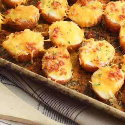 Easy to Make Loaded Potato Bites