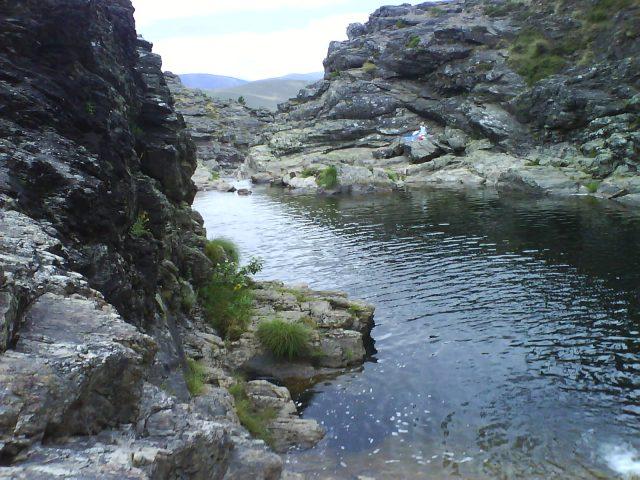 Cascatas das Fisgas do Ermelo no Parque Natural do Alvão