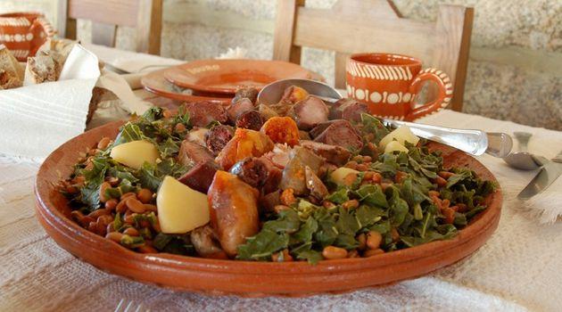 Cozido de Couves com Feijão, especialidade Terras de Bouro (Gerês)