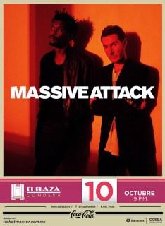 Concierto Massive Attack Plaza Condesa 2014