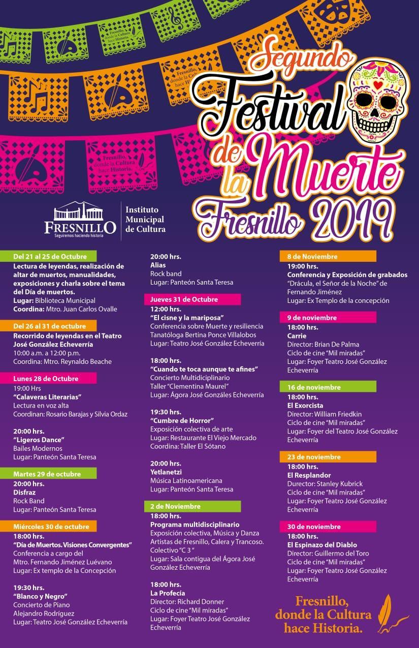 festival de la muerte fresnillo 2019