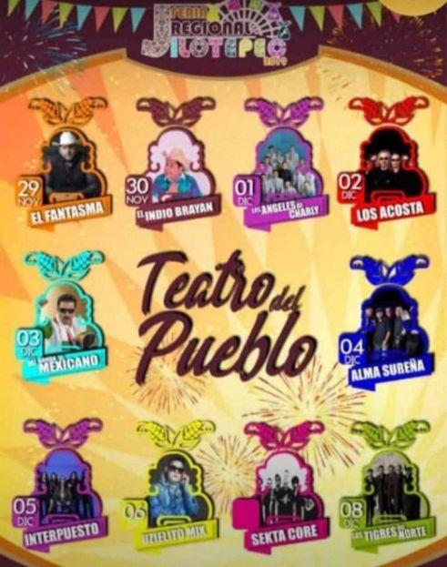 teatro del pueblo feria jilotepec 2019