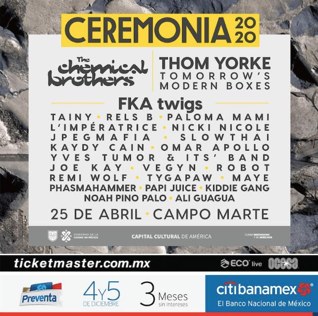 festival ceremonia 2020