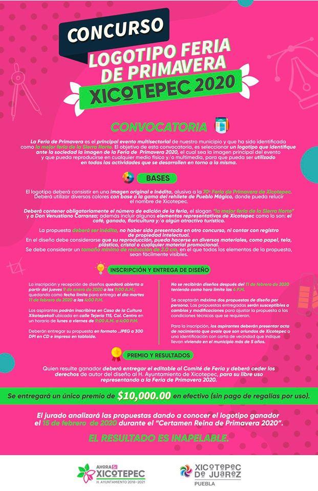 concurso logo feria xicotepec 2020
