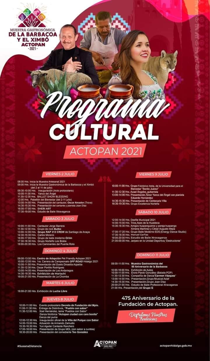 programa Feria Actopan 2021