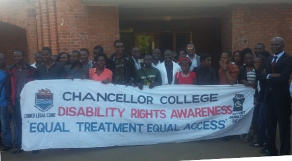 Get involved in fighting for the rights of people with disabilities, Chanco Students urged