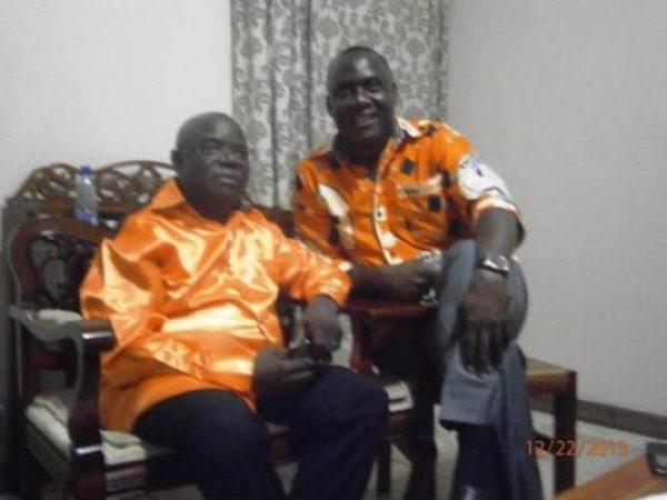Mwalwanda and his political nemesis Mwenefumbo