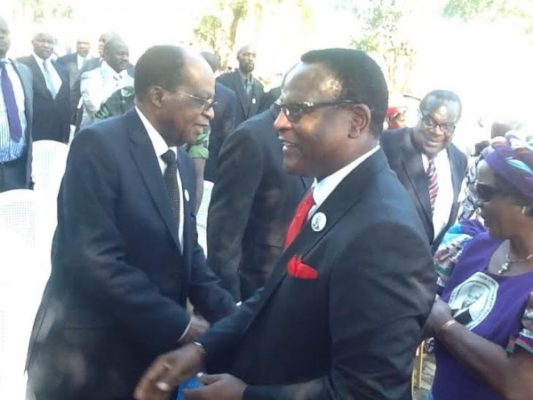 Chakwera and John Tembo : Present and past