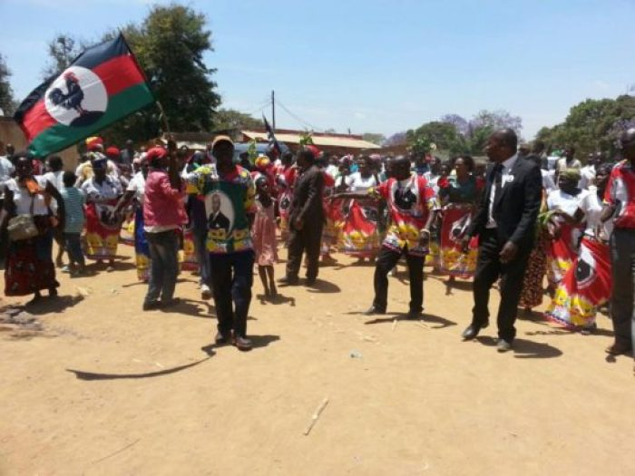 MCP Supporters in Rumphi gave Chakwera a thunderous welcome