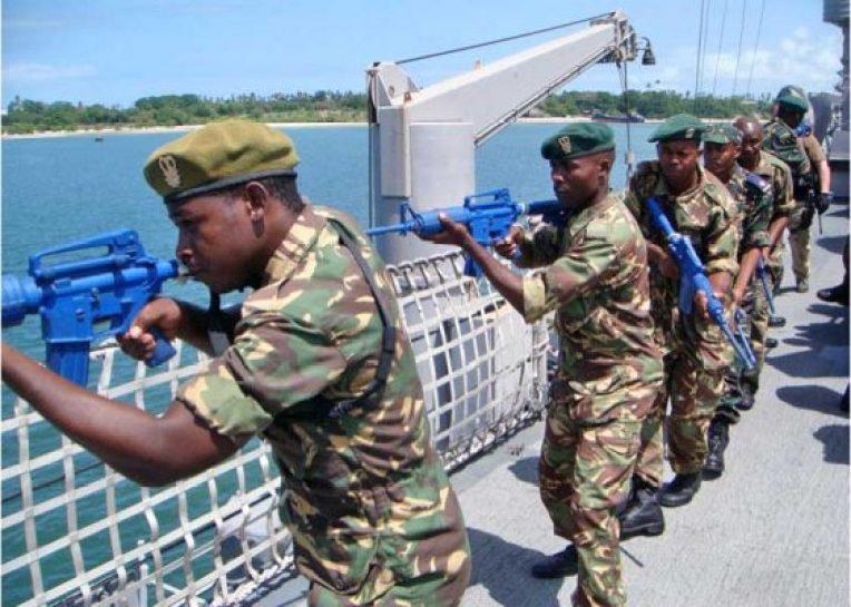 Malawi Navy Patrol
