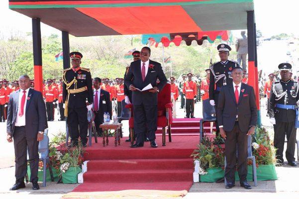 Remembarance Day in Malawi