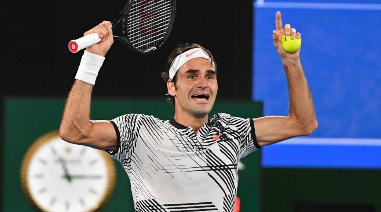 Roger Federer Beats Nadal