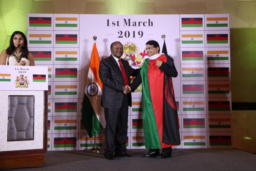 H.E. Mr. George Mkondiwa,