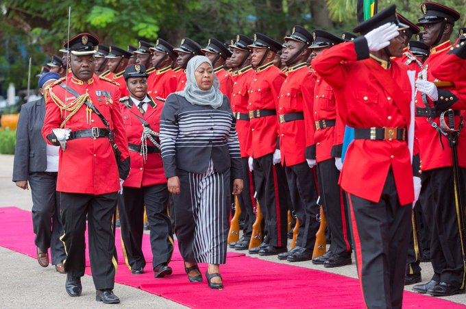 Tanzania's President Samia Hassan Suluhu