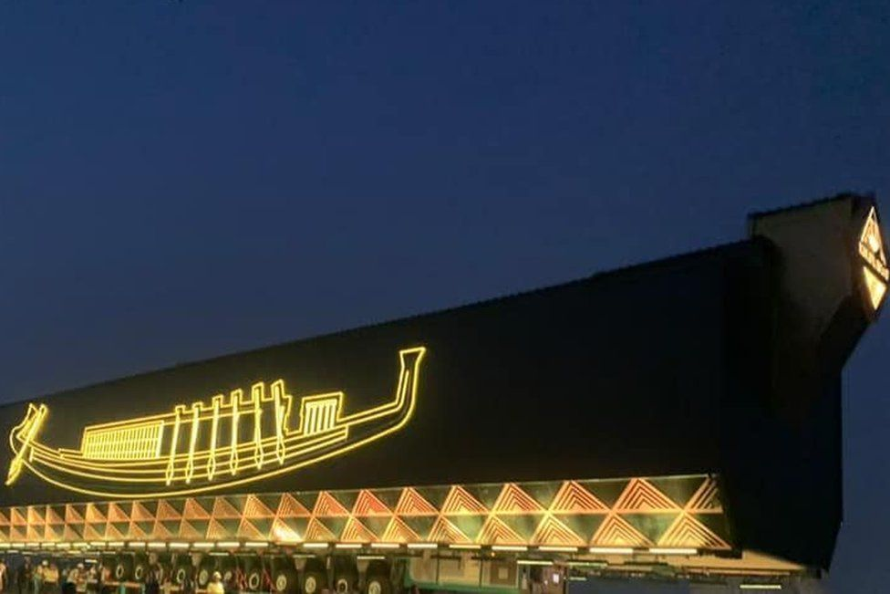 Egyptian ancient boat