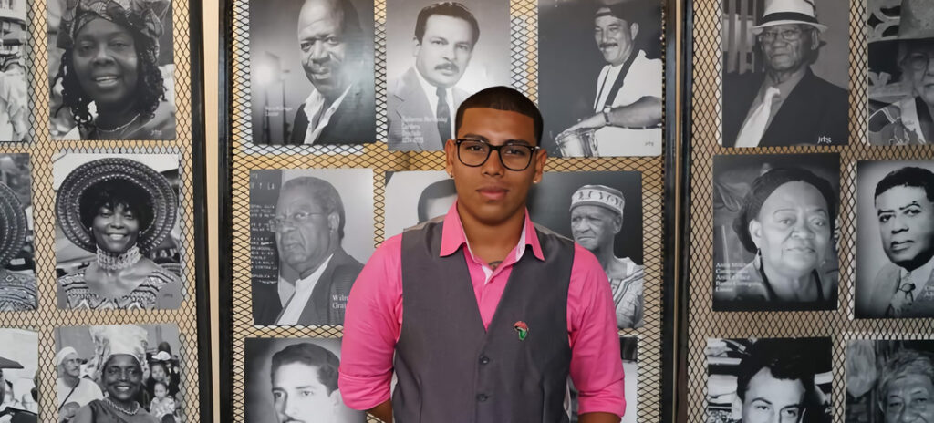 Jan André Solano participated in a UN initiative that collects the stories of several people of African descent and through their personal experiences they share their achievements, challenges, desires and life lessons.