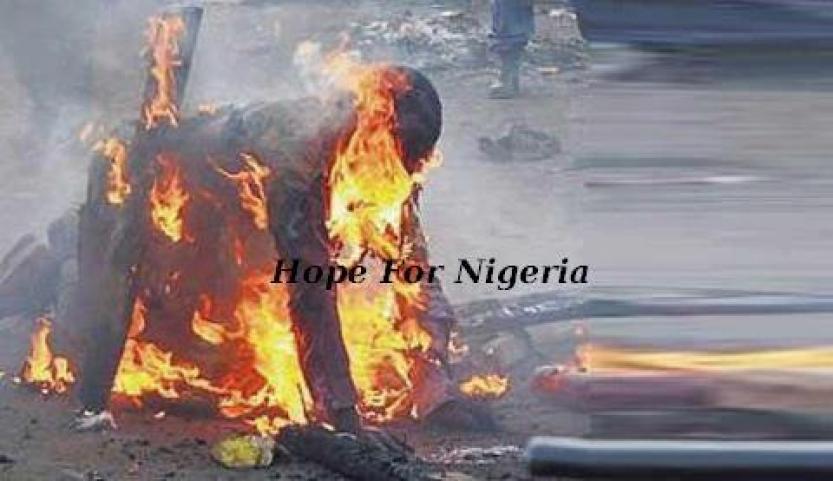 Pastor burns self in Malawi