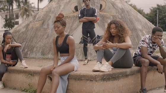 A scene on the season 2 of the series, that follows young people in the country