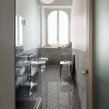 carrelage sol et mur salle de bain