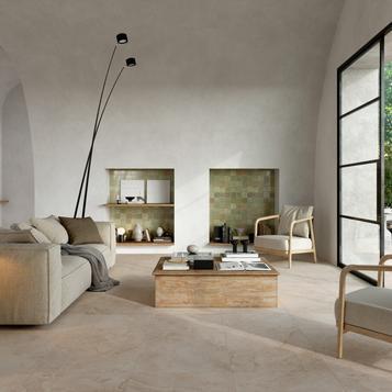 stone effect living room tiles marazzi