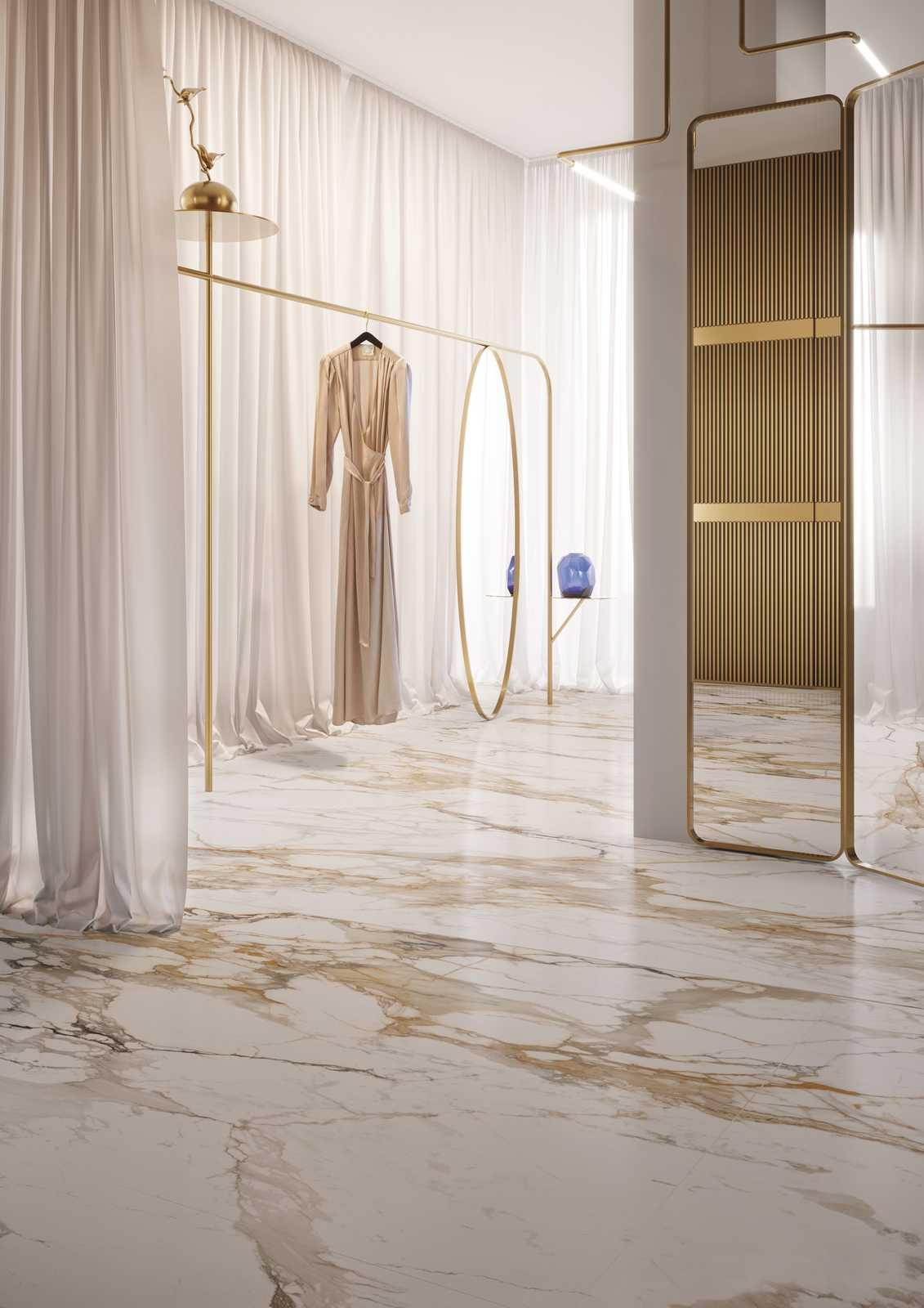 marble effect porcelain stoneware view