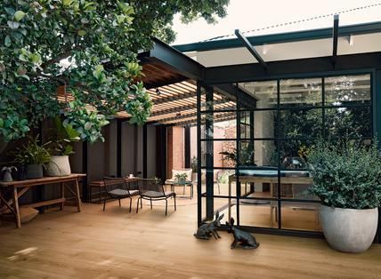 indoor and outdoor flooring view the