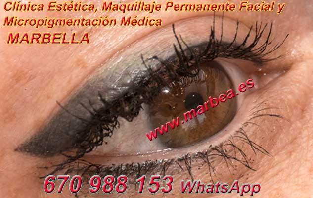 microblading ojos Frontera. en la clínica estetica propone micropigmentación Marbella ojos y maquillaje permanente