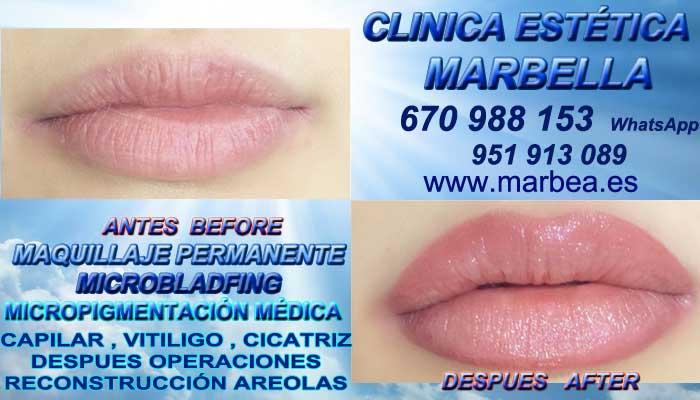 delineados labios Torremolinos CLINICA ESTÉTICA ofrenda Dermopigmentacion labios 3D Marbella y Torremolinos