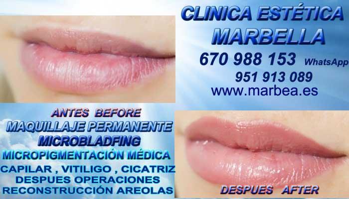 maquillaje permanente labios Murcia, CLINICA ESTÉTICA ofrenda Pigmentacion labios en Marbella y Murcia